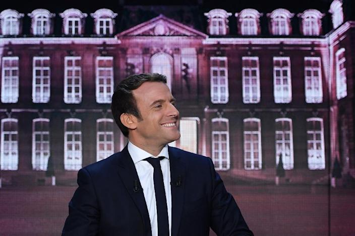 Emmanuel Macron is favourite to become France's youngest ever presidents (AFP Photo/Eric FEFERBERG)