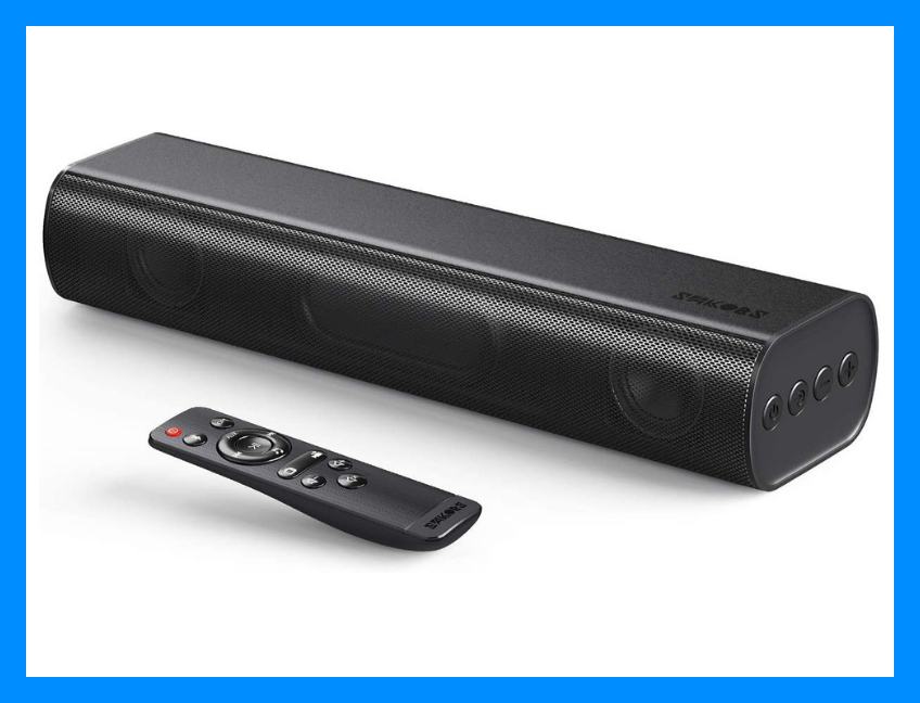 Here's a soundbar that'll punch up your audio! (Photo: Amazon)