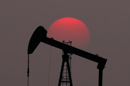 Oil at six-week high on Gulf of Mexico storm, supply decline
