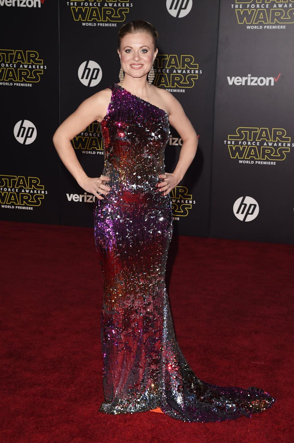 <p>Like onscreen husband Edgerton, Piesse is reprising her role from the prequel trilogy as the younger version of Luke's aunt Beru. Unlike many of her costars, Piesse hasn't really acted much in the years since; she's mostly appeared in short films. </p>