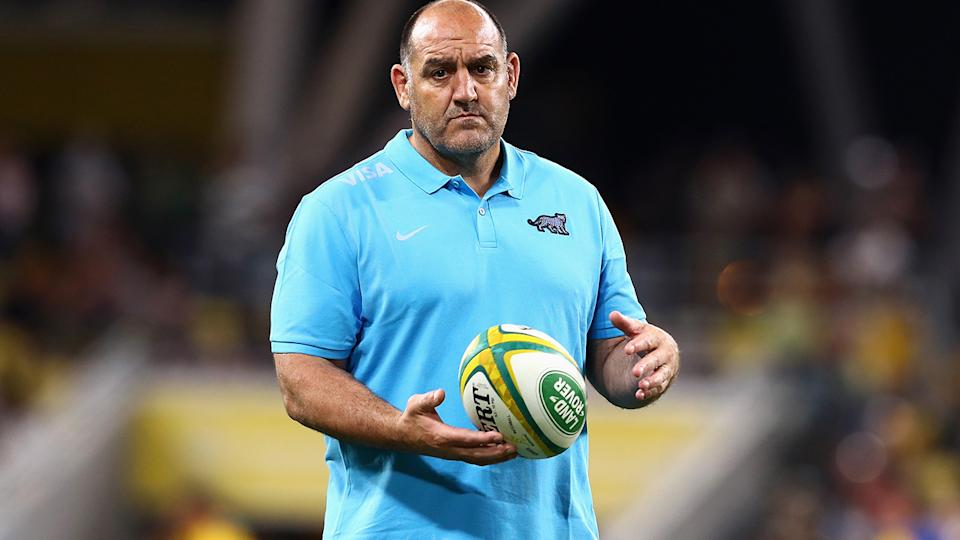 Mario Ledesma, pictured here before Argentina's clash with the Wallabies.