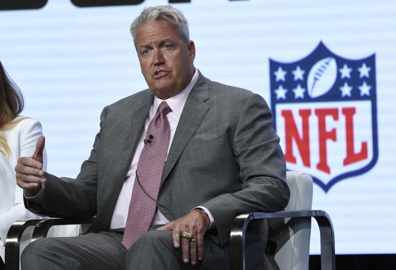 Rex Ryan said he'd be willing to become Washington's next head coach. (AP)