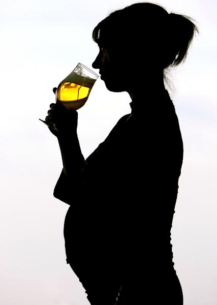Drinking while pregnant can also lead to miscarriages, and premature or still births, says the WHO website, and pregnant women are generally advised not to drink (AFP Photo/Philippe Huguen)