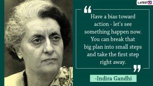 Quotes by Indira Gandhi| (Picture Credits: File Image)