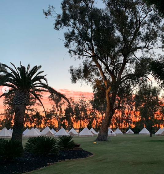 Wedding tents for glamping