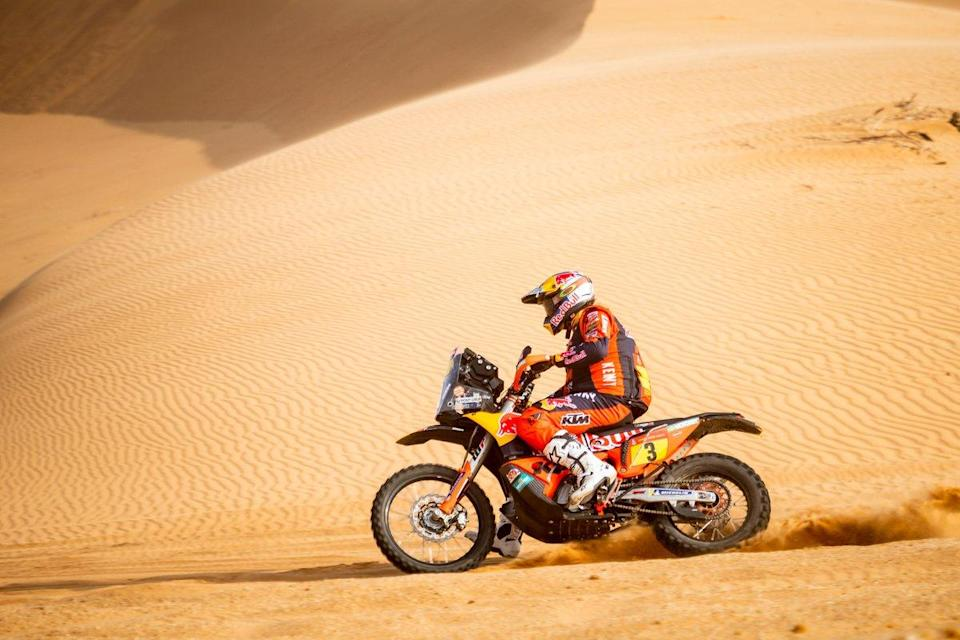 "#3 Red Bull KTM Factory Racing: Toby Price<span class=""copyright"">Red Bull Content Pool</span>"