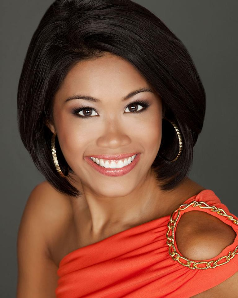 """Miss Florida, Kristina Janolo is a contestant in the """"<a href=""""/2012-miss-america-pageant/show/48165"""">2012 Miss America Pageant</a>."""""""