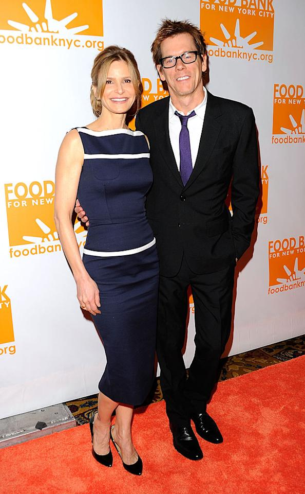 Long-time volunteers Kyra Sedgwick and husband Kevin Bacon were named the Can-Do Awards'  Special Guests of the night. (4/17/2012)