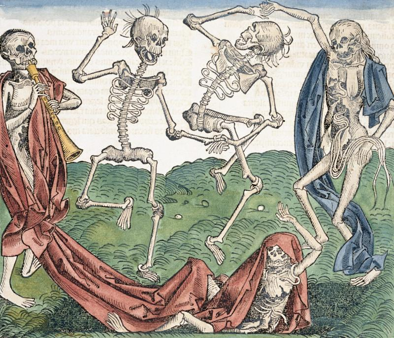 An illustration from Liber Chronicarum (1493) by Hartmann Schedel - Corbis Historical