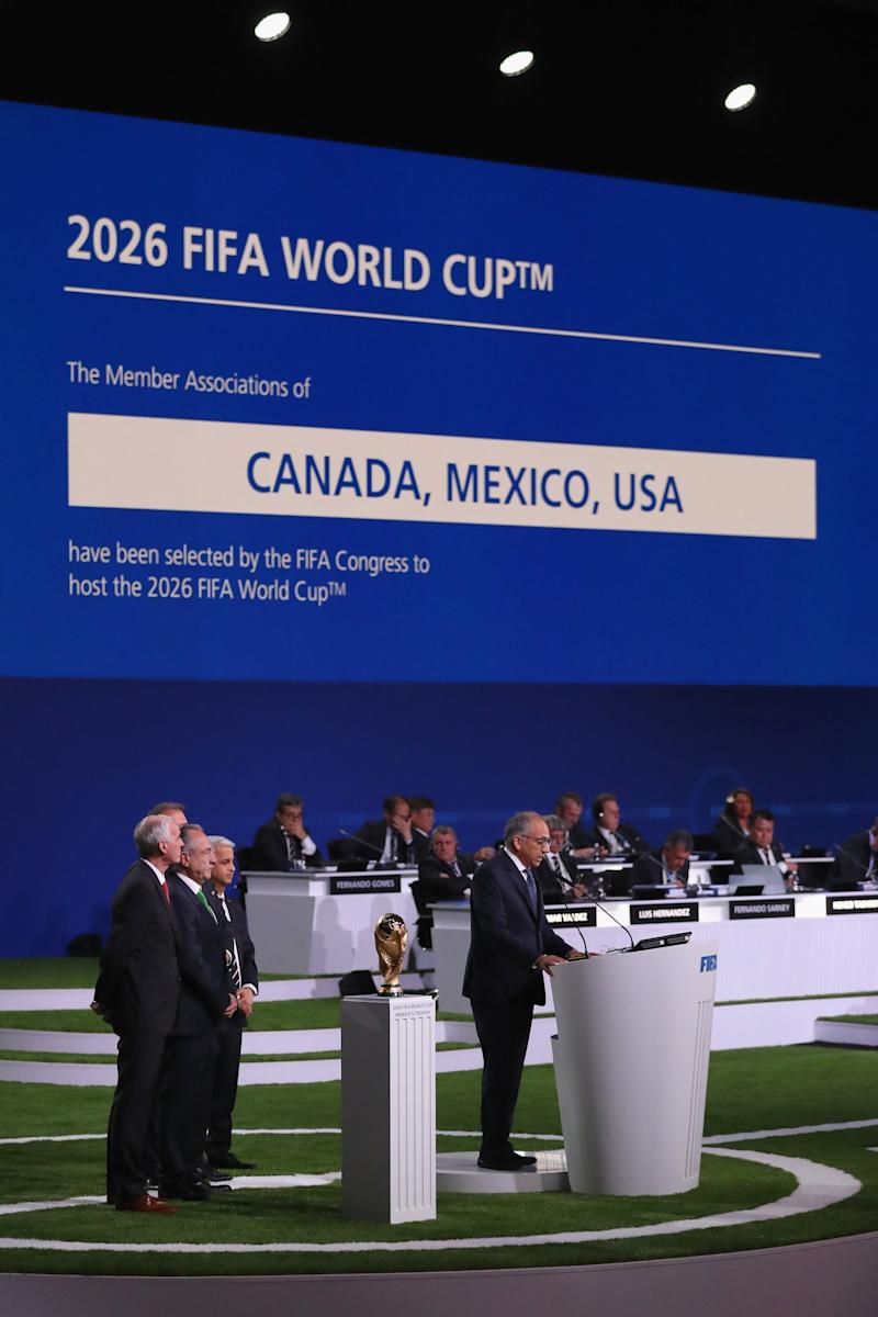 USA Canada and Mexico wins bid for World Cup