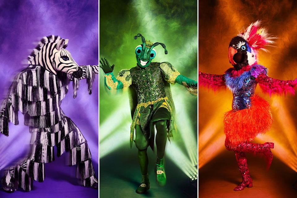 """<p><a href=""""https://people.com/tv/the-masked-dancer-costumes-promo/"""" rel=""""nofollow noopener"""" target=""""_blank"""" data-ylk=""""slk:The Masked Dancer"""" class=""""link rapid-noclick-resp""""><em>The Masked Dancer</em></a> spinoff features a range of disguised stars putting their moves on display as panelists Paula Abdul, Brian Austin Green, Ken Jeong and Ashley Tisdale guess who might be under the creative costumes.</p> <p>The 10 celebrity competitors on the show, hosted by <a href=""""https://people.com/bodies/craig-robinson-lost-50-lbs-vegan/"""" rel=""""nofollow noopener"""" target=""""_blank"""" data-ylk=""""slk:Craig Robinson"""" class=""""link rapid-noclick-resp"""">Craig Robinson</a>, have collectively amassed more than 38 million albums sold worldwide, 20 Emmys, 20 Grammy nominations, 10 World Dancing titles, five <em>New York Times</em> best-selling author titles, four Olympic gold medals and three Broadway show appearances. Keep scrolling to see who's been unmasked this season.</p>"""
