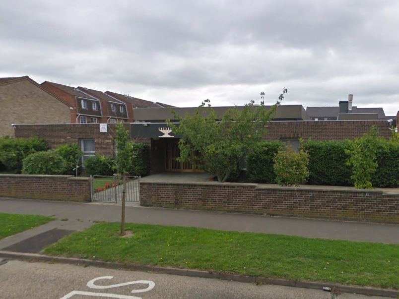 Rabbi Rafi Goodwin was attacked as he left his synagogue in Chigwell, Essex (Google Maps)