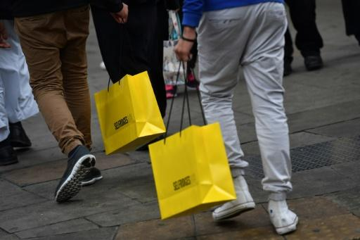 UK retail sales slide in March
