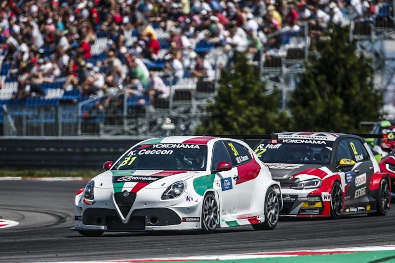Ex-GP2 racer Ceccon earns Alfa WTCR stay