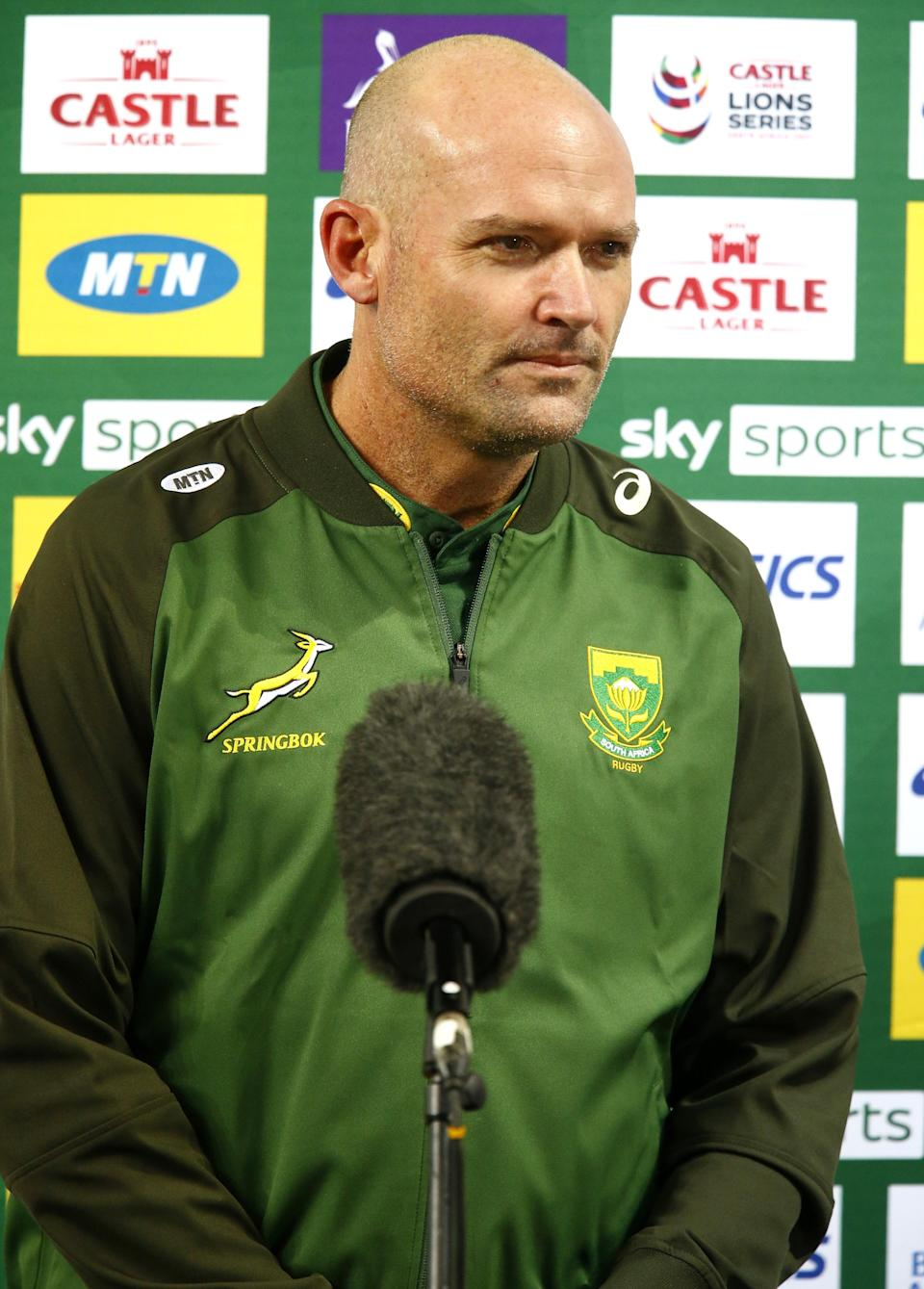 Jacques Nienaber, pictured, was full of praise for his victorious Springboks (Steve Haag/PA) (PA Wire)
