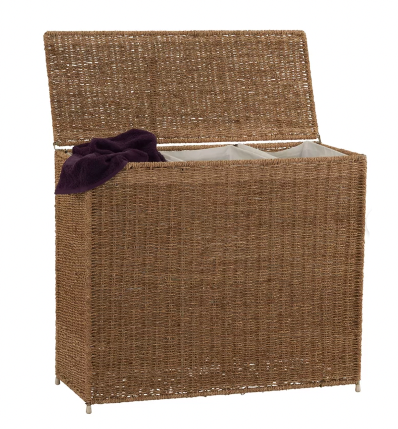 Three bins for easy sorting. (Photo: Wayfair)