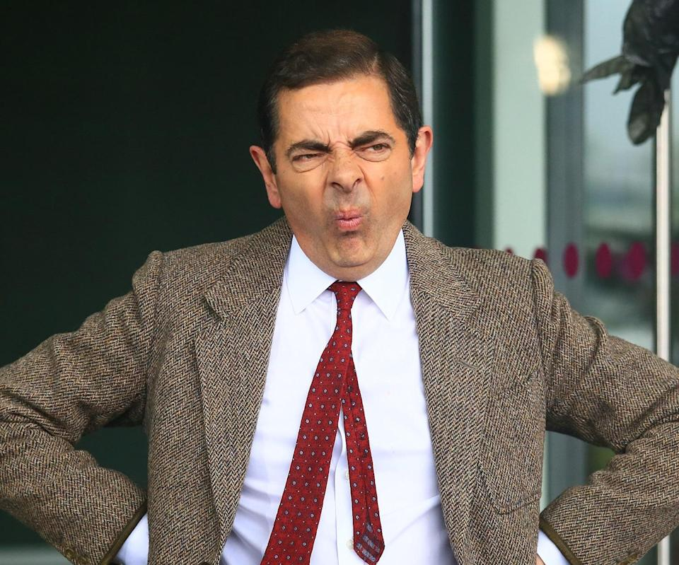 Mr. Bean is one of Rowan's most famous roles. Copyright: [Rex]