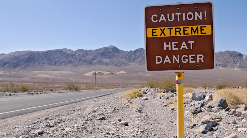 Death Valley's Average Temperature In July Was 107.4 — A New Record