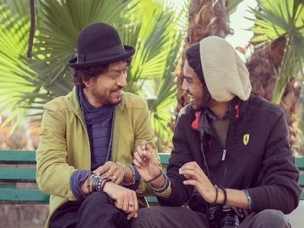 Irrfan Khan and Babil Khan (Image courtesy: Instagram)