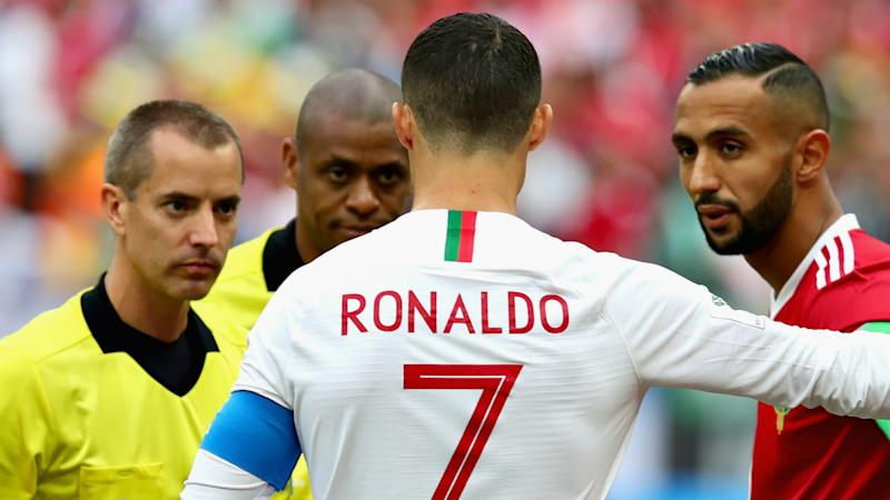 FIFA refutes claims referee asked Ronaldo for jersey after Morocco match