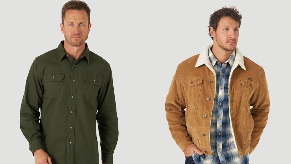 Wrangler has one of the most generous sizing options for its clothing.