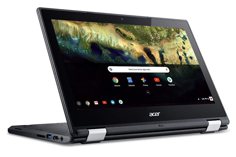 This Acer Chromebook has a touchscreen display. (Photo: Amazon)