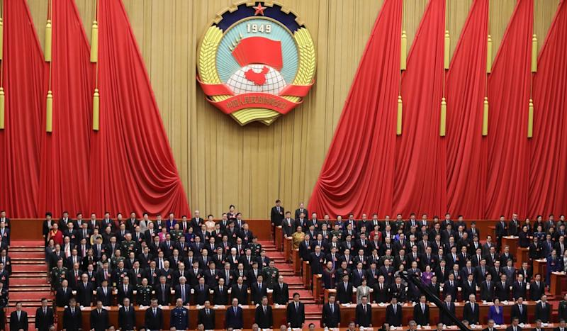 Wang Yang, top Chinese adviser, urges faith in Communist Party's judgment in face of 'unprecedented' challenges