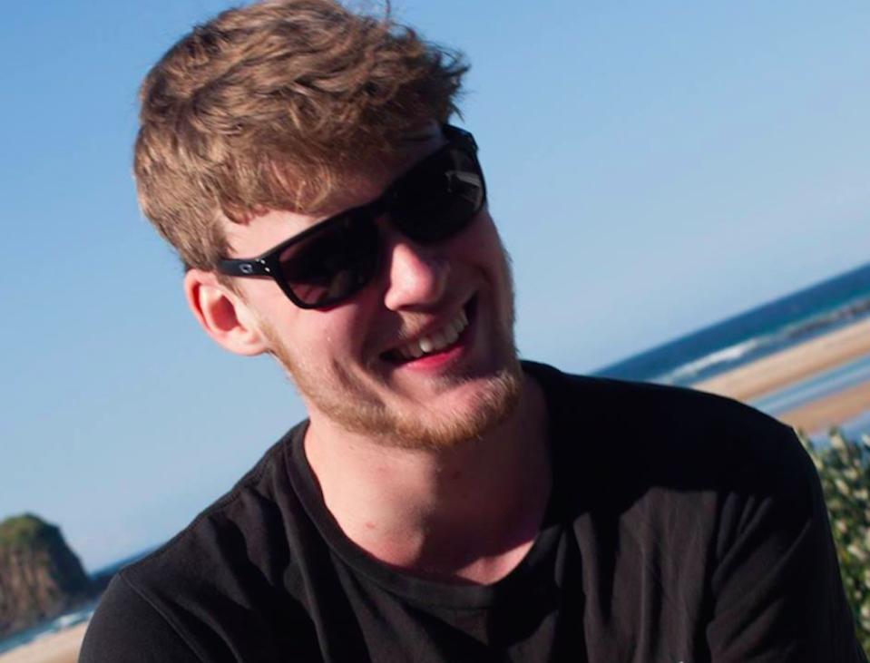 Lachlan Foote, 21, died after drinking a caffeine protein shake (Picture: Facebook)