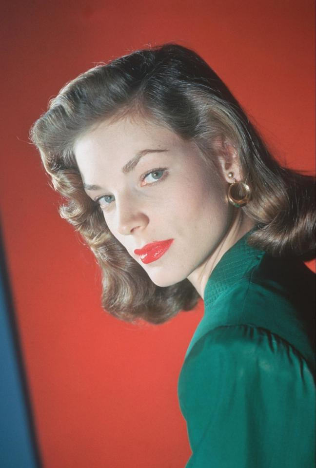 <p>Super-tweezed brows continued to dominate the scene until actresses like Lauren Bacall opted for a thicker, more natural look, with a serious arch for dramatic effect. <span></span></p>