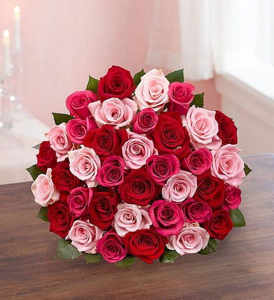 Enchanted Rose Medley Bouqet - 1-800-Flowers, from $55