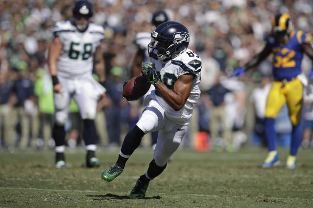 Seattle's Doug Baldwin has been one of the NFL's leading voices for change. (AP)