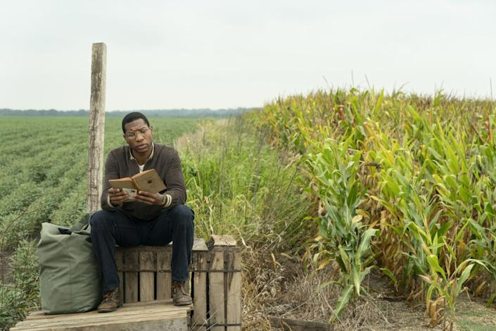 """Jonathan Majors plays a young man with a special destiny in the HBO series """"Lovecraft Country."""" <span class=""""copyright"""">(Elizabeth Morris/HBO)</span>"""