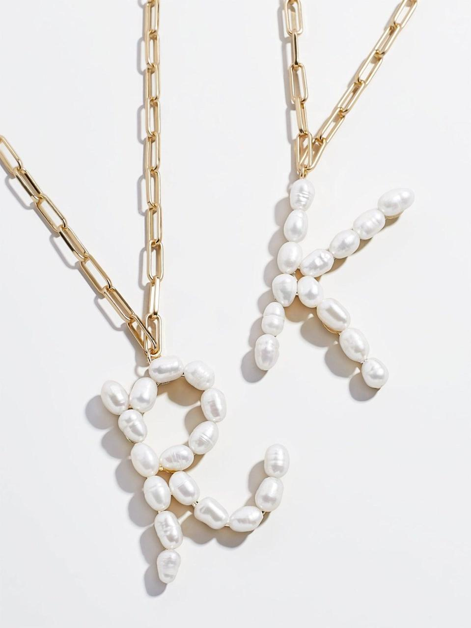 "<br><br><strong>BaubleBar</strong> Blair Hera Pearl Initial Pendant, $, available at <a href=""https://go.skimresources.com/?id=30283X879131&url=https%3A%2F%2Fwww.baublebar.com%2Fproduct%2F50230-blair-pearl-initial-pendant"" rel=""nofollow noopener"" target=""_blank"" data-ylk=""slk:BaubleBar"" class=""link rapid-noclick-resp"">BaubleBar</a>"