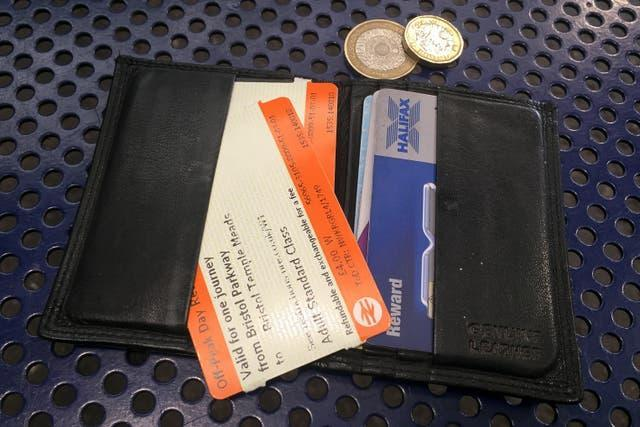 Rail ticket stock