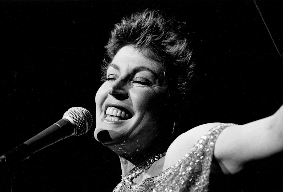 9-1986; Helen Reddy;  (Photo By Lyn Alweis/The Denver Post via Getty Images)