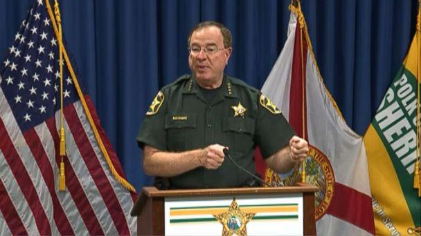 PHOTO: Polk County Sheriff Grady Judd speaks during a press conference, Aug. 29, 2018, in Winter Haven, Fla. (WFTS)