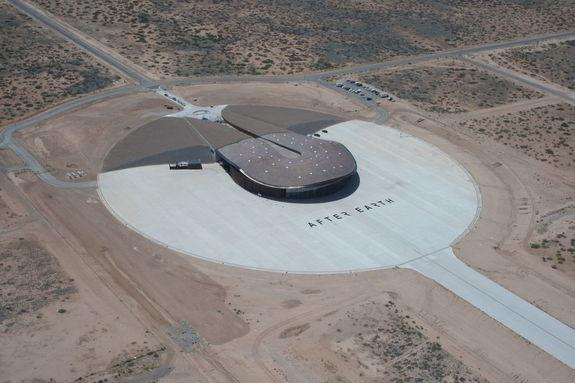 Spaceport America Helps Launch Sci-Fi Film 'After Earth'