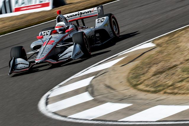 Sato takes pole as Penske struggles at Barber