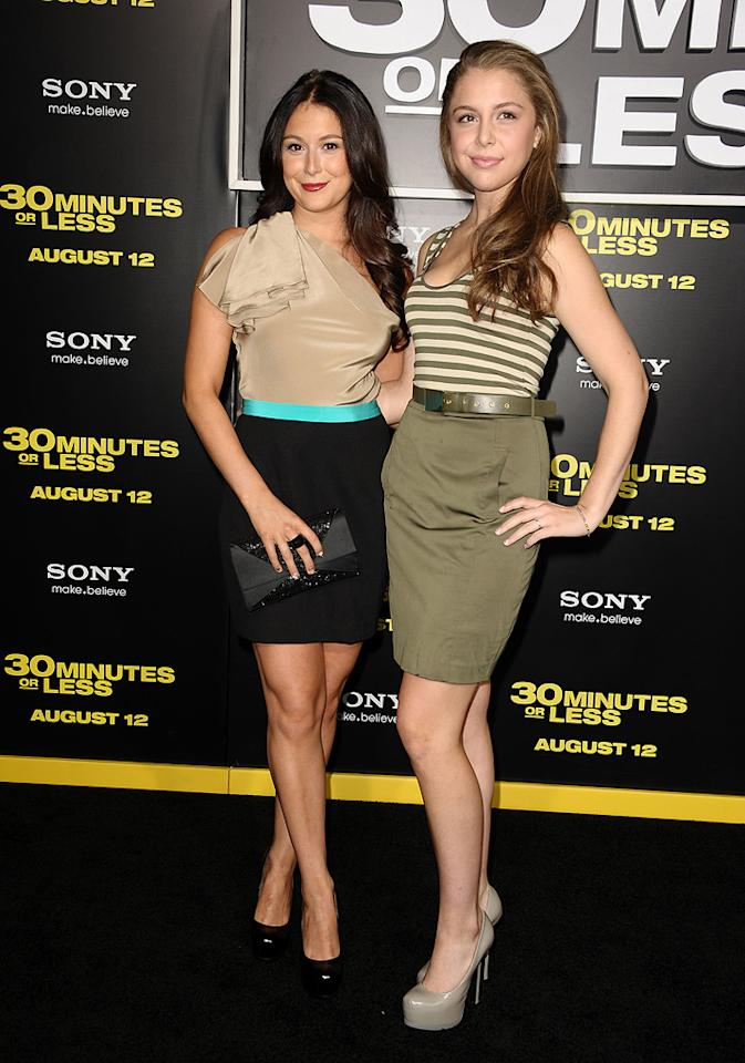 "<a href=""http://movies.yahoo.com/movie/contributor/1804487257"">Alexa Vega</a> and <a href=""http://movies.yahoo.com/movie/contributor/1804358284"">Makenzie Vega</a> at the Los Angeles premiere of <a href=""http://movies.yahoo.com/movie/1810160427/info"">30 Minutes or Less</a> on August 8, 2011."