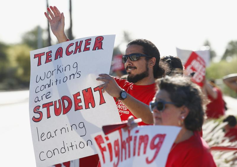 Preparations underway for Arizona teachers rally