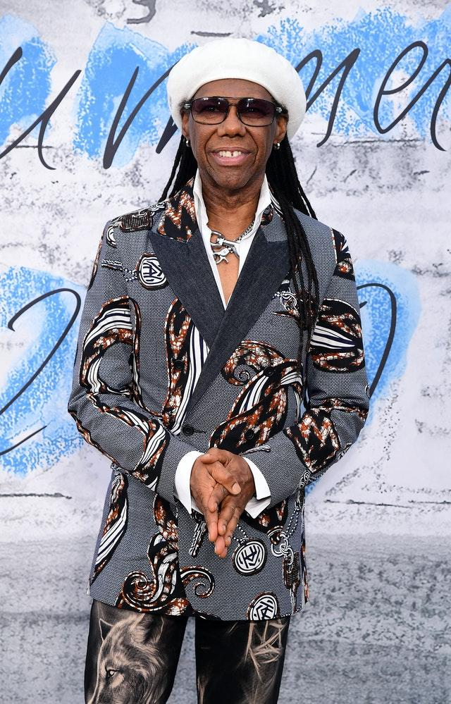 Nile Rodgers has said the finances of streaming are unfair