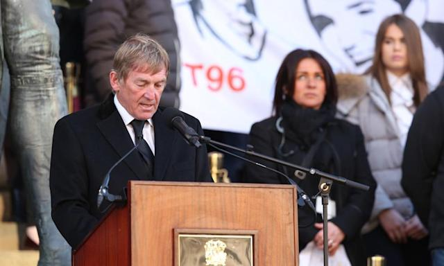 "<span class=""element-image__caption"">Kenny Dalglish's role in the aftermath of Hillsborough brought comfort to many in their time of despair and he continues to help families in their fight for justice.</span> <span class=""element-image__credit"">Photograph: BPI/Rex/Shutterstock</span>"
