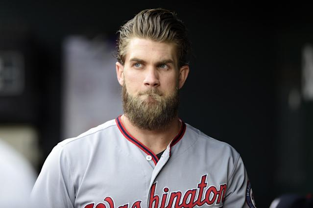 Bryce Harper and his hair should be on