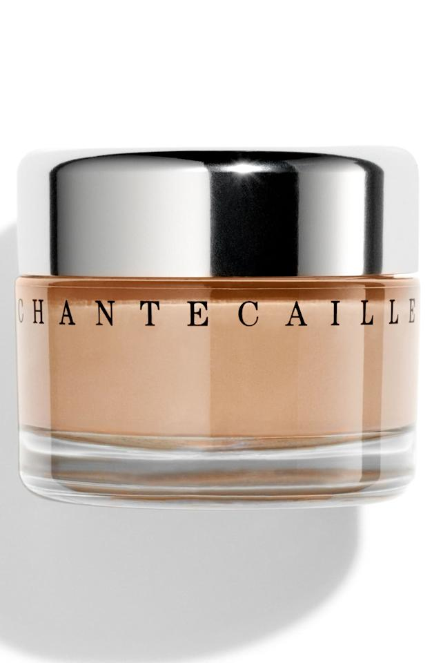 """<p><strong>Chantecaille</strong></p><p>nordstrom.com</p><p><strong>$78.00</strong></p><p><a href=""""https://go.redirectingat.com?id=74968X1596630&url=https%3A%2F%2Fshop.nordstrom.com%2Fs%2Fchantecaille-future-skin-gel-foundation%2F3089335&sref=http%3A%2F%2Fwww.harpersbazaar.com%2Fbeauty%2Fmakeup%2Fg28362121%2Fbest-foundation-for-mature-skin%2F"""" target=""""_blank"""">Shop Now</a></p><p>This oil-free gel foundation is lightweight and airy so it feels like you're wearing nothing at all. It contains 60 percent charged water to infuse skin with moisture and it has pigments that adjust coverage from medium to full to hide any blemishes, fine lines, or hyperpigmentation. It's also loaded with botanicals to soothe irritated skin.  </p>"""