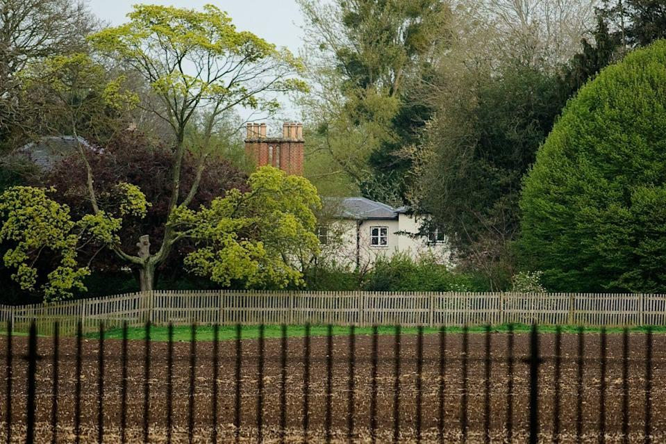 "<p>The former home of the Duke and Duchess of Sussex, <a href=""https://www.townandcountrymag.com/society/tradition/a25295234/prince-harry-meghan-markle-frogmore-cottage-windsor-home/"" rel=""nofollow noopener"" target=""_blank"" data-ylk=""slk:Frogmore Cottage"" class=""link rapid-noclick-resp"">Frogmore Cottage</a> shares the same grounds as Frogmore House. The cottage was built in 1801 under the direction of Queen Charlotte. The home is only a half mile away from Windsor Castle, where Prince Harry and Meghan Markle were married.</p>"
