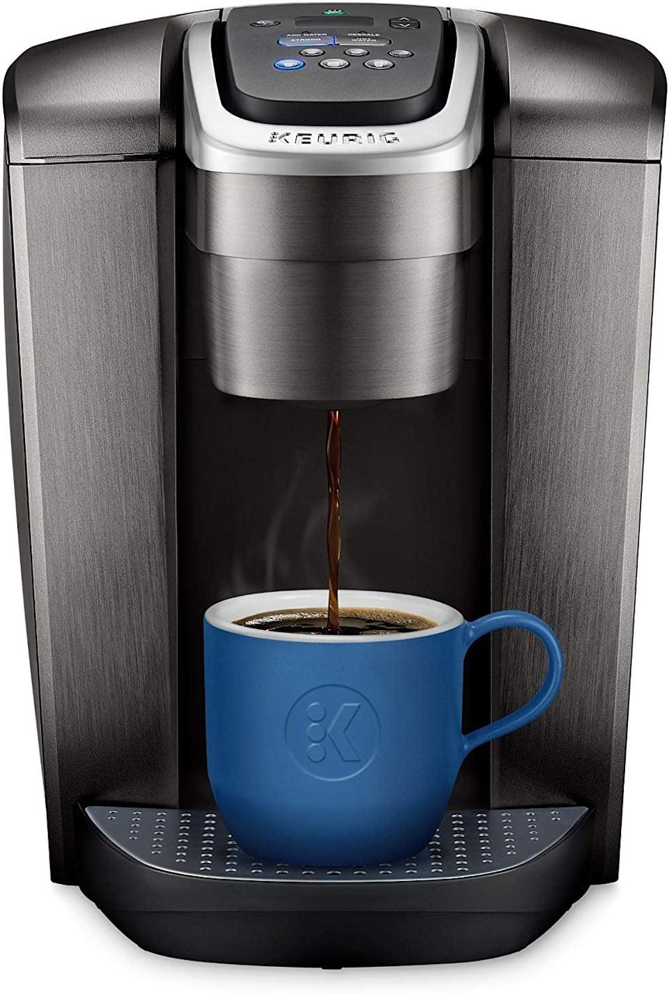 <p>They can enjoy a relaxing morning cup of coffee easily with this <span>Keurig Single Serve K-Cup Pod Coffee Maker</span> ($155, originally $170).</p>