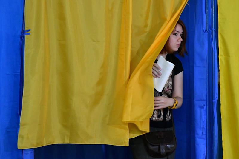 Ukrainian President Clinches Majority in Shock Election Result