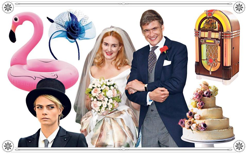 How to stage a thoroughly modern wedding