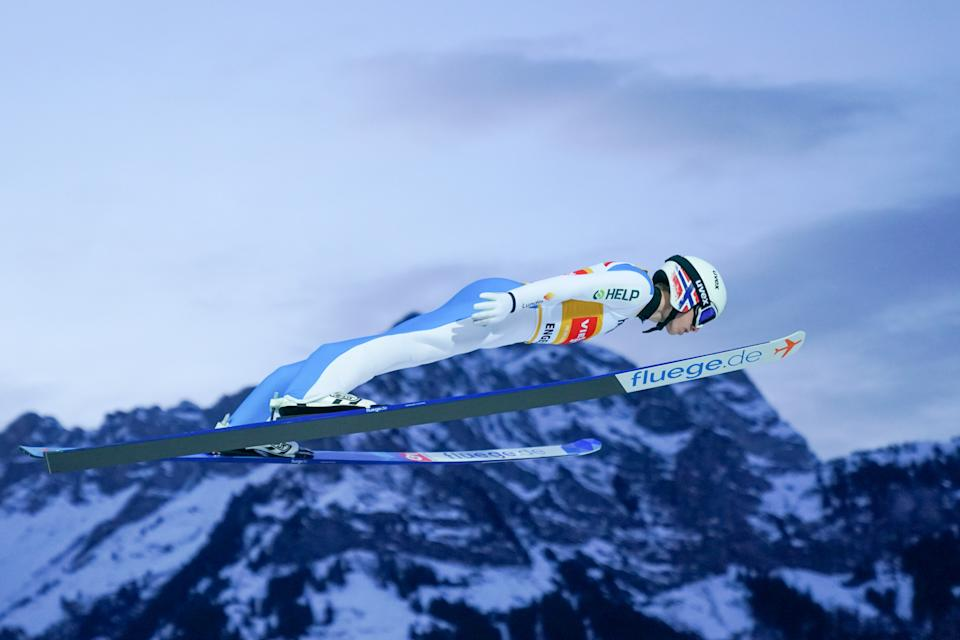 Halvor Egner Granerud has won five consecutive ski jumping World Cup events this season - and heads to the Four Hills as a red-hot favourite