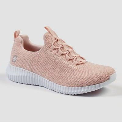 <p>Think pink in these cute <span>S Sport By Skechers Charlize Apparel Sneakers</span> ($40).</p>